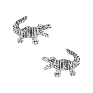 Alligator Post Earrings