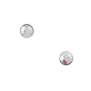 Aurora Crystal Post Earring - 1.8mm