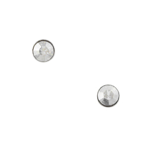 Clear Crystal Post Earring - 1.8mm