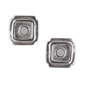 Bali Square Post Earring
