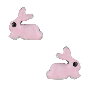 Dreamy Bunny Post Earring - Pink