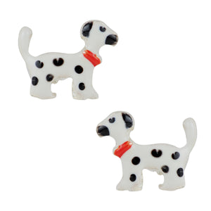 Dreamy Dalmation Post Earrings