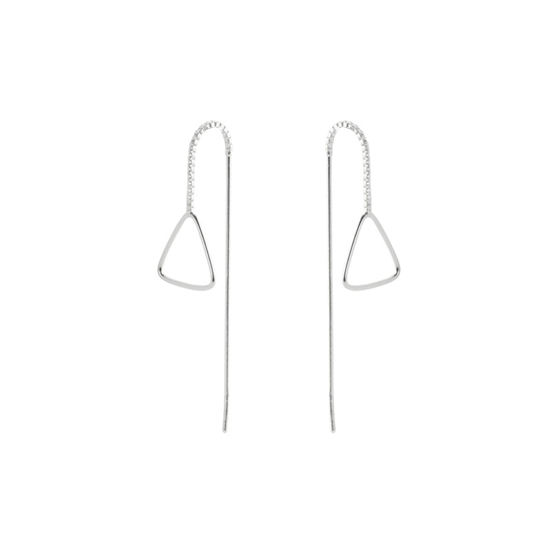 Triangle Threader Earring