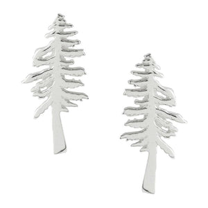 Redwood Tree Post Earrings