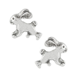 Rabbit Post Earrings