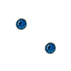 Capri Crystal Post Earrings