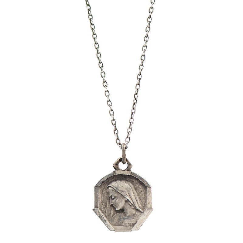 Saint Bernadette Vintage Saint Necklace-VB4