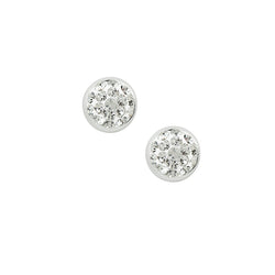 Crystal Fireball Studs