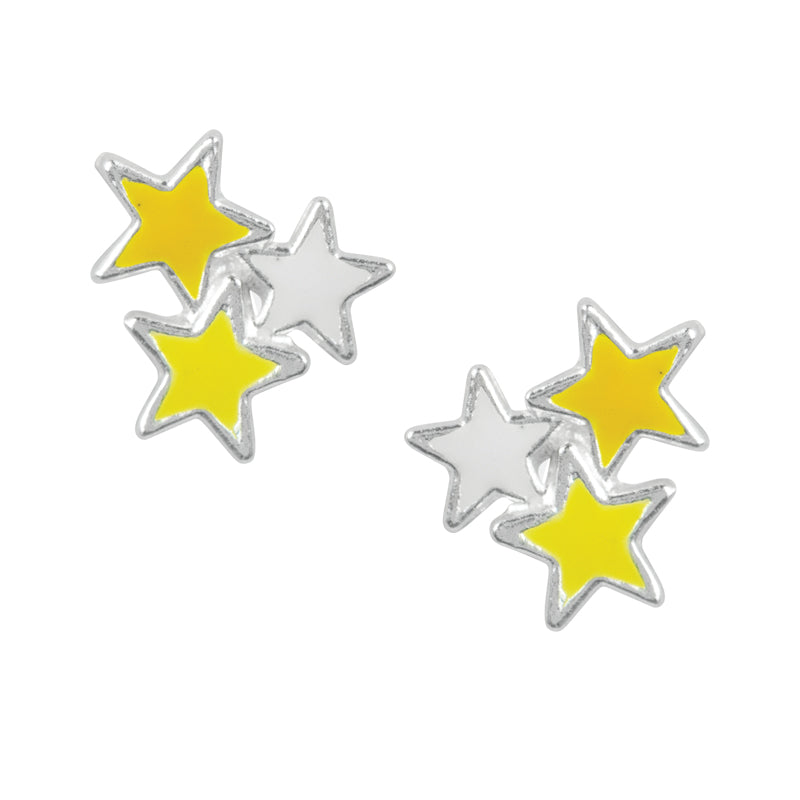 Star Cluster Studs - Yellow