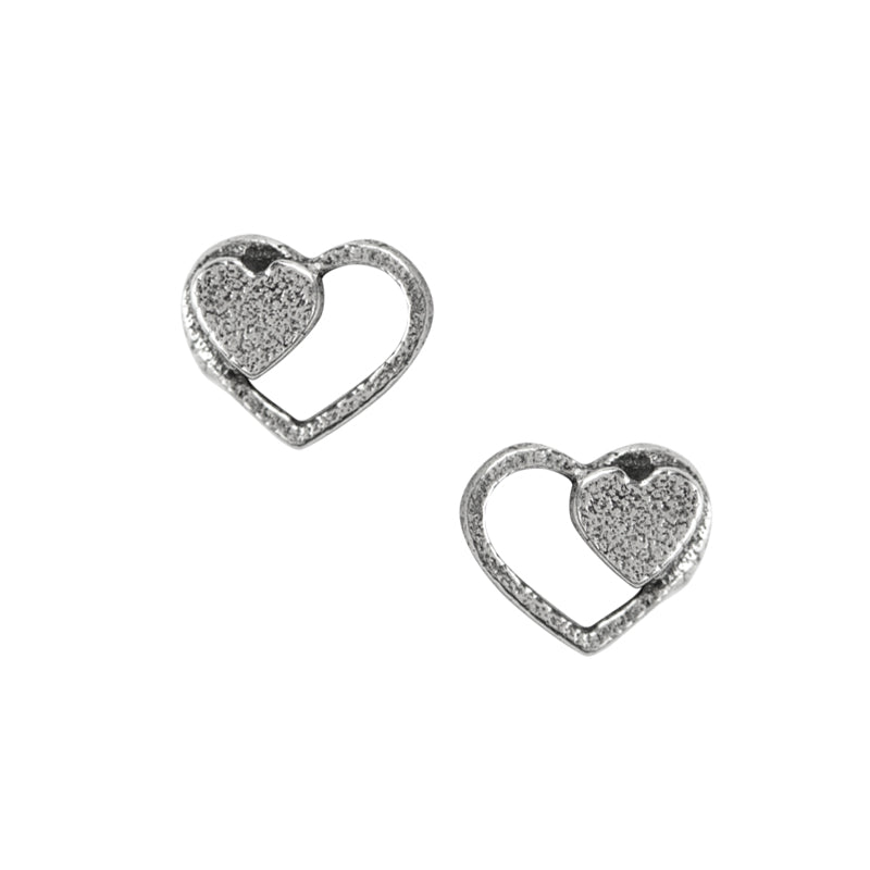 Connected Hearts Studs