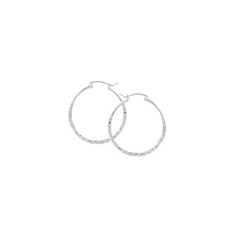 Hammered P/C Hoops - 16mm