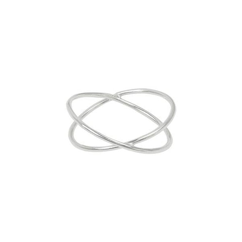 Crossed Wires Ring