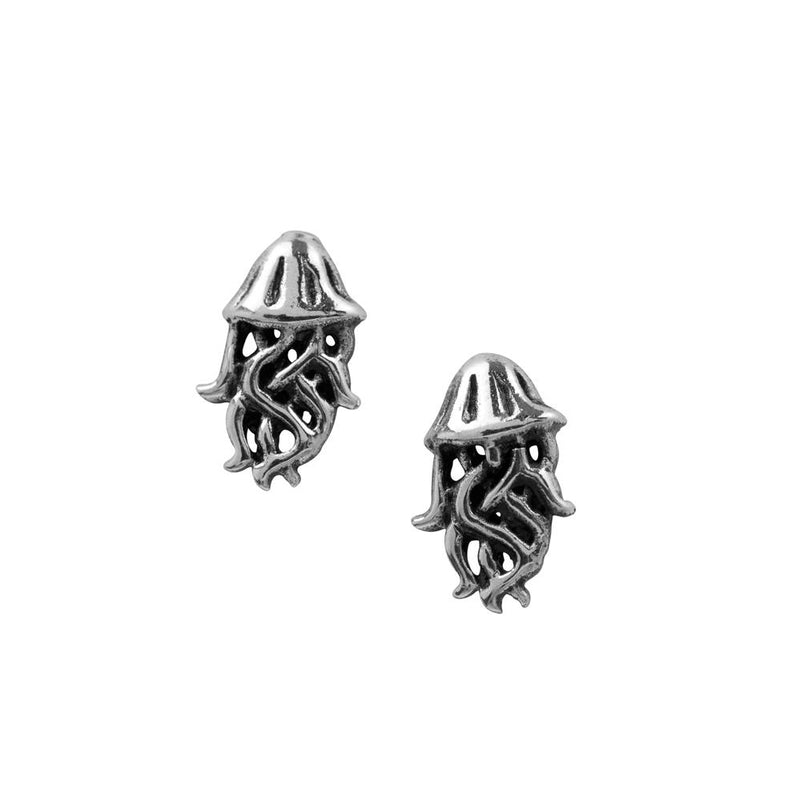 Oxidized Jelly Fish Studs