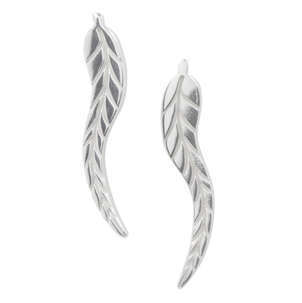 Long Feather Studs