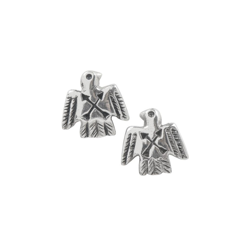 Peyote Bird Studs - Crossed Arrows