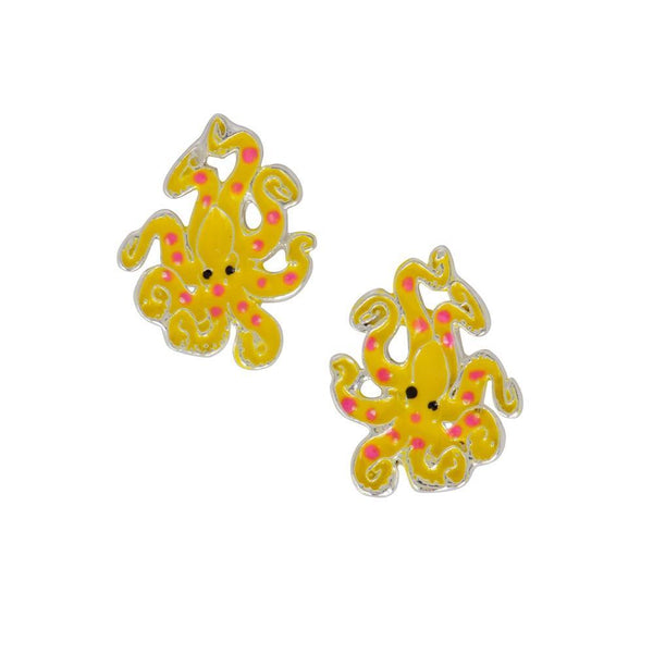 Spotted Octopus Studs