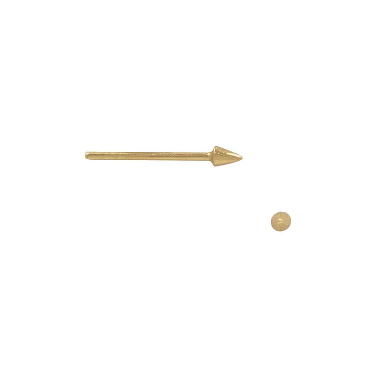 Mini Spike Studs - Gold