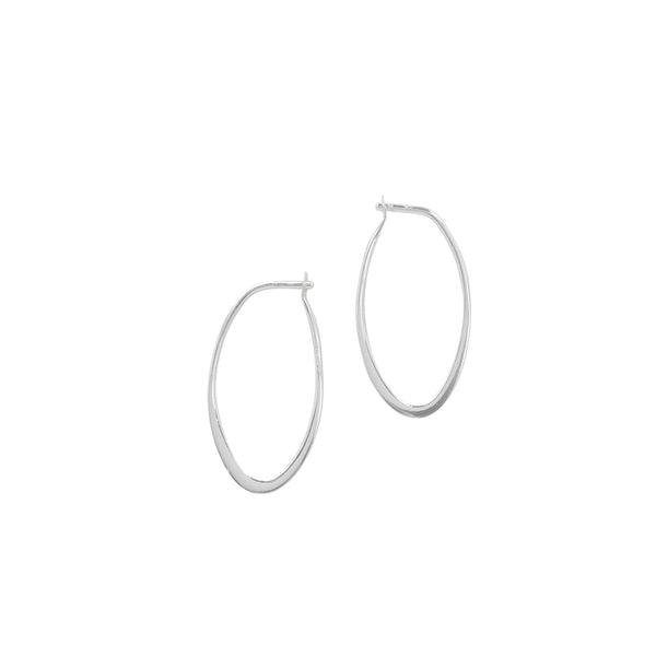 Oblong Sleeper Hoops - 24mm