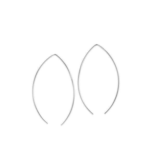 Leaf Threader Hoops - 40mm