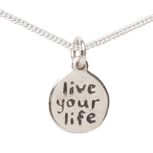 Live Your Life Anklet