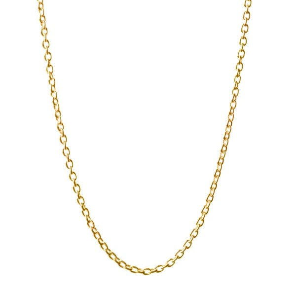 Gold Cable Chain - 14-16""
