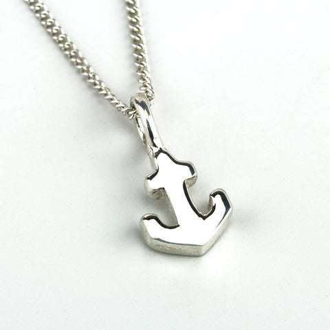 My Anchor Necklace in Silver
