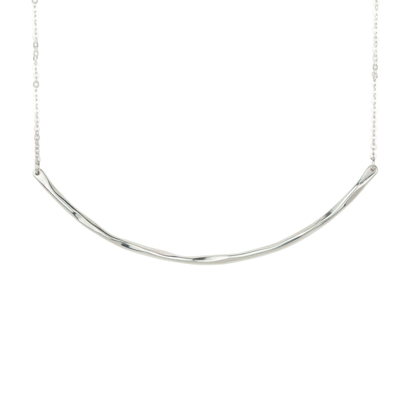 Balance Necklace in Silver