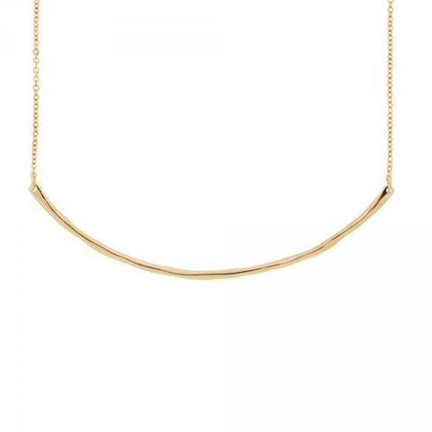 Balance Necklace in Gold