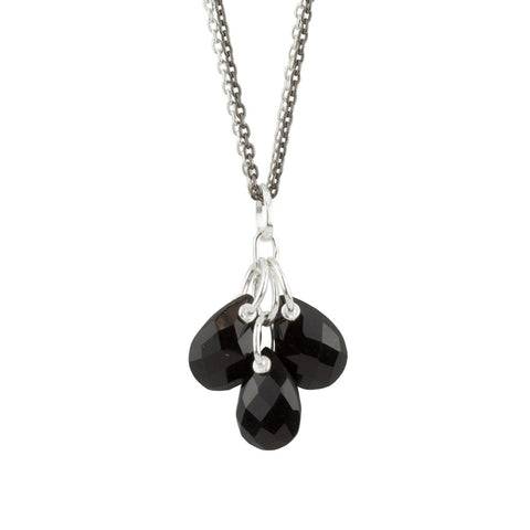 Black Glacier Necklace
