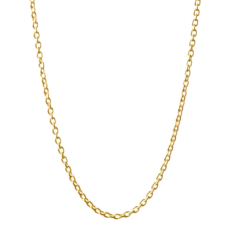 "16-18"" Cable Chain in Gold"