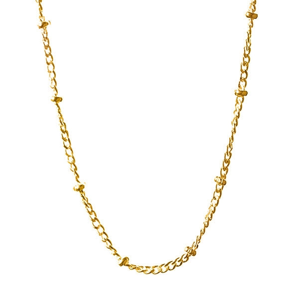 Saturn Chain In Gold 22-24""