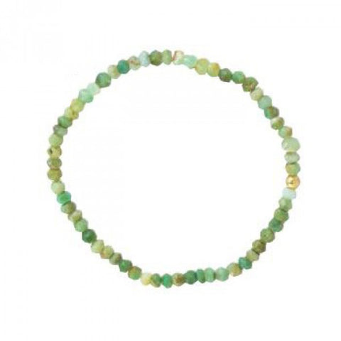 Chrysoprase Stretch Bracelet