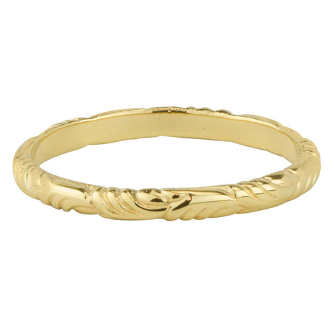 Golden Plumage Ring