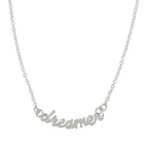Dreamer Necklace in Sterling Silver