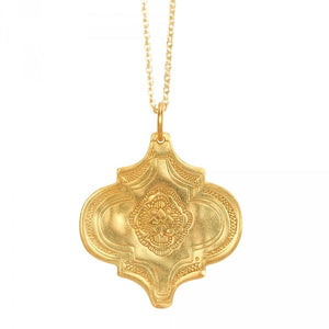 Inner Fire Necklace in Gold