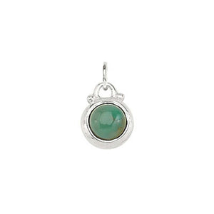 December -- Turquoise Birthstone Charm