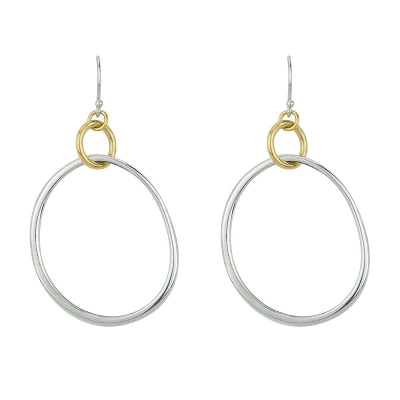 Silken Circles Earrings