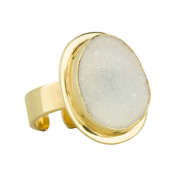 Showstopper Ring - Gold/White