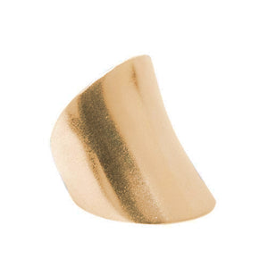 Adjustable Saddle Ring - Gold