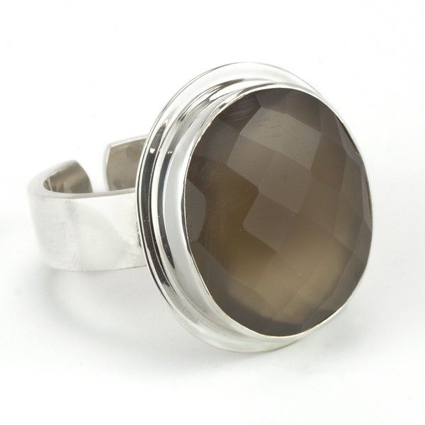 Stag's Leap Ring - Silver