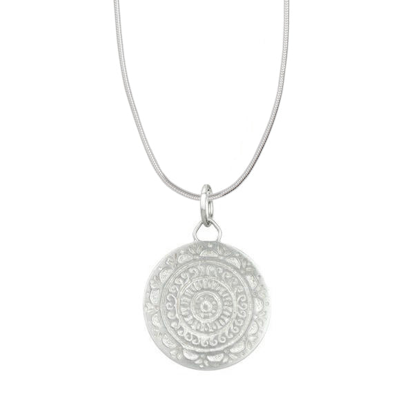 Sun Goddess Mandala Necklace