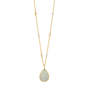 Serenity Necklace in Gold