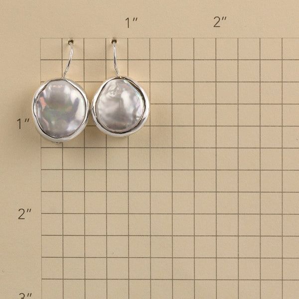 Aveline Earrings in Silver