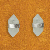 Prism Post Earring In Silver And Moonstone
