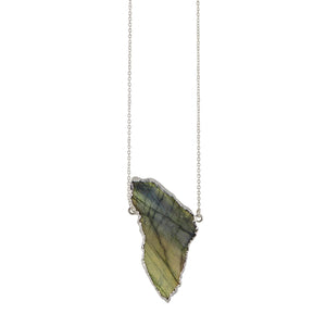 Northern Lights Necklace In Silver