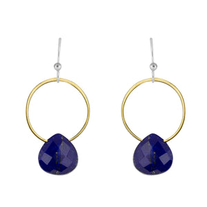 Rhea Earring in Lapis