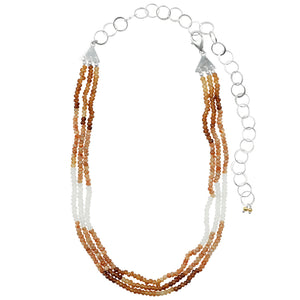 Solis Stone Beaded Necklace