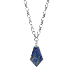"Lapis ""Wisdom"" Talisman Necklace"