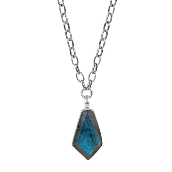 "Labradorite ""Intuition"" Talisman Necklace"