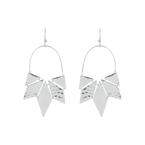Sun Tile Earrings